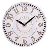Παλαιό στρογγυλό ρολόι τοίχων Στοκ Φωτογραφίες