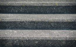 Παλαιό συγκεκριμένο υπόβαθρο σκαλοπατιών Στοκ Φωτογραφίες