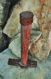 Παλαιό σφυρί κατασκευής Στοκ Φωτογραφία
