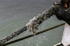 Παλαιό σχοινί στο λιμένα Οστάνδης, Βέλγιο Στοκ φωτογραφία με δικαίωμα ελεύθερης χρήσης