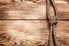 παλαιό σχοινί Στοκ φωτογραφία με δικαίωμα ελεύθερης χρήσης