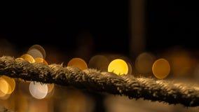 παλαιό σχοινί Στοκ φωτογραφίες με δικαίωμα ελεύθερης χρήσης