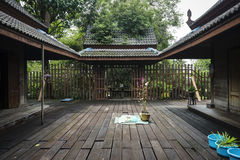 Παλαιό ταϊλανδικό σπίτι Στοκ Εικόνα