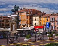 Παλαιό τετράγωνο στην Πάδοβα, Ιταλία Στοκ Εικόνα