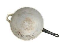 Παλαιό τηγάνι Στοκ Φωτογραφίες