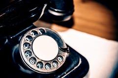 Παλαιό τηλέφωνο - αναδρομικό, τρύγος Στοκ Εικόνα