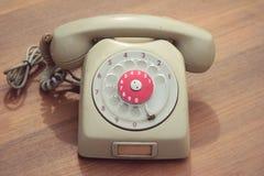 Παλαιό τηλέφωνο του εκλεκτής ποιότητας ύφους Στοκ Φωτογραφία