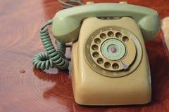 Παλαιό τηλέφωνο του εκλεκτής ποιότητας ύφους Στοκ Εικόνες