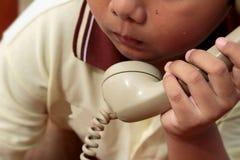 Παλαιό τηλέφωνο του εκλεκτής ποιότητας ύφους Στοκ φωτογραφίες με δικαίωμα ελεύθερης χρήσης