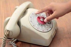 Παλαιό τηλέφωνο του εκλεκτής ποιότητας ύφους Στοκ φωτογραφία με δικαίωμα ελεύθερης χρήσης