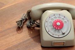 Παλαιό τηλέφωνο του εκλεκτής ποιότητας ύφους Στοκ Φωτογραφίες