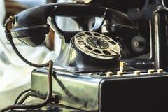 παλαιό τηλέφωνο Στοκ εικόνες με δικαίωμα ελεύθερης χρήσης