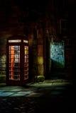 Παλαιό τηλεφωνικό κιβώτιο Στοκ φωτογραφίες με δικαίωμα ελεύθερης χρήσης