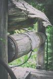 Παλαιό του χωριού ύφος Το νερό φρεατίων Στοκ εικόνες με δικαίωμα ελεύθερης χρήσης