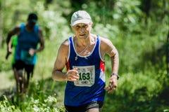 παλαιό τρέξιμο ατόμων Στοκ Εικόνα