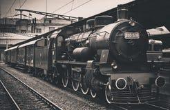παλαιό τραίνο ατμού Στοκ Φωτογραφίες
