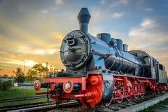 παλαιό τραίνο Στοκ Φωτογραφία
