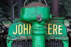 Παλαιό τρακτέρ του John Deere στοκ φωτογραφία με δικαίωμα ελεύθερης χρήσης