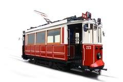 Παλαιό τραμ Ιστανμπούλ Τουρκία Στοκ εικόνες με δικαίωμα ελεύθερης χρήσης