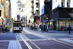 παλαιό τραμ Στοκ εικόνες με δικαίωμα ελεύθερης χρήσης