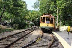 Παλαιό τραμ Στοκ Εικόνα