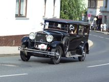 Παλαιό τσεχικό αυτοκίνητο, Praga Στοκ Φωτογραφίες
