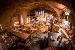 Παλαιό τσεχικό μπαρ στοκ εικόνες