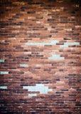 Παλαιό υπόβαθρο σύστασης τοίχων τούβλων Στοκ φωτογραφία με δικαίωμα ελεύθερης χρήσης