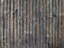 Παλαιό υπόβαθρο φρακτών μπαμπού Στοκ Φωτογραφίες