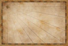 Παλαιό υπόβαθρο χαρτών θησαυρών κενό στοκ εικόνες με δικαίωμα ελεύθερης χρήσης