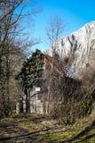 Παλαιό υπόστεγο - φαράγγι Turda - Cheile Turzii, Τρανσυλβανία, Ρουμανία Στοκ φωτογραφία με δικαίωμα ελεύθερης χρήσης