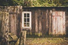 παλαιό υπόστεγο Στοκ εικόνα με δικαίωμα ελεύθερης χρήσης