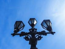 Παλαιό φανάρι οδών Στοκ εικόνες με δικαίωμα ελεύθερης χρήσης