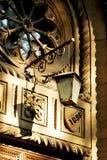 Παλαιό φανάρι του φιλαρμονικού θεάτρου της Οδησσός Στοκ φωτογραφία με δικαίωμα ελεύθερης χρήσης