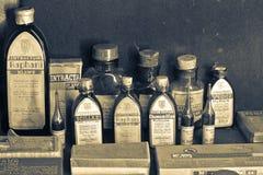 παλαιό φαρμακείο στοκ φωτογραφία