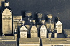 παλαιό φαρμακείο στοκ φωτογραφίες