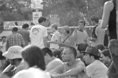 Παλαιό φεστιβάλ μουσικής ροκ Στοκ φωτογραφία με δικαίωμα ελεύθερης χρήσης