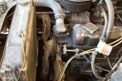 Παλαιό φορτηγό μηχανών Στοκ Εικόνες