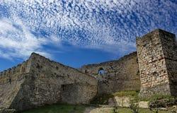 Παλαιό φρούριο στα Βεράτιο, Αλβανία Στοκ Φωτογραφία