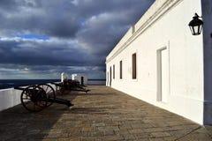 Παλαιό φρούριο του Μοντεβίδεο Στοκ Φωτογραφία