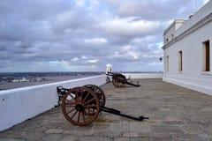 Παλαιό φρούριο του Μοντεβίδεο Στοκ φωτογραφία με δικαίωμα ελεύθερης χρήσης
