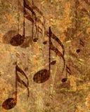 παλαιό φύλλο μουσικής Στοκ εικόνες με δικαίωμα ελεύθερης χρήσης