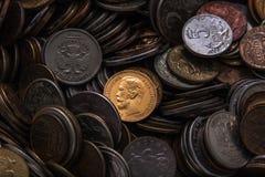 Παλαιό χρυσό νόμισμα Στοκ εικόνες με δικαίωμα ελεύθερης χρήσης