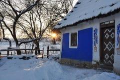 παλαιό χωριό σπιτιών Στοκ φωτογραφία με δικαίωμα ελεύθερης χρήσης