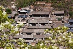 Παλαιό χωριό στην Κίνα Στοκ Εικόνα