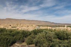 Παλαιό χωριό Ghazouane κοντά σε Talsint, Μαρόκο Στοκ Εικόνες