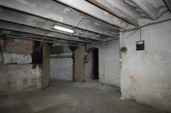 Παλαιό δωμάτιο μιας καλωδίωσης σπιτιών, Στοκ εικόνες με δικαίωμα ελεύθερης χρήσης
