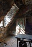 Παλαιό δωμάτιο σπουδαστών στη φυλακή Στοκ φωτογραφία με δικαίωμα ελεύθερης χρήσης
