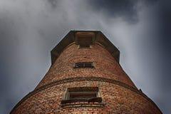 παλαιό ύδωρ πύργων τούβλο&upsilon Στοκ εικόνα με δικαίωμα ελεύθερης χρήσης