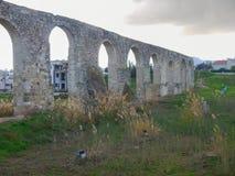 Παλαιό abandonec aquaduct στο larnaka Στοκ εικόνα με δικαίωμα ελεύθερης χρήσης